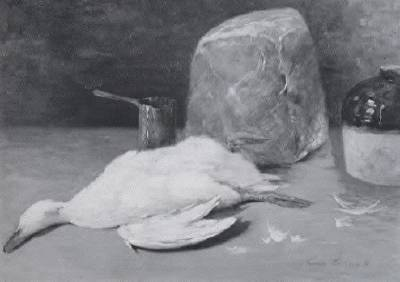 Emil Carlsen : Still life with dead game, 1925.