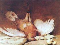 Emil Carlsen Still Life with Fowl 1892