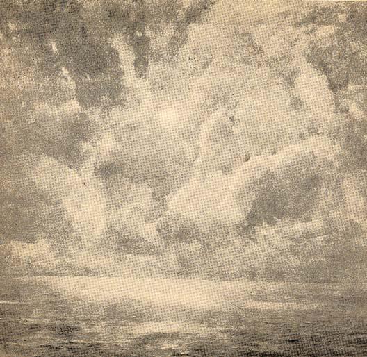 Emil Carlsen Sunrise Over a Foggy Sea