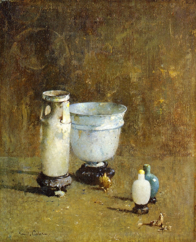 Emil Carlsen Roman Glass (also called Jade and Ancient Glass) c.1916Emil Carlsen Roman Glass (also called Jade and Ancient Glass) c.1916