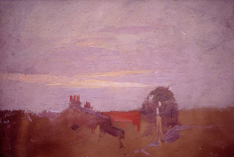 Emil Carlsen : Sunset sky, ca.1915.