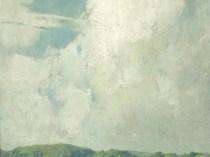 Emil Carlsen : Summer landscape, ca.1920.
