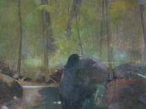 Emil Carlsen Forest Stream, c.1926