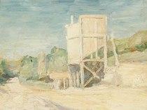 Emil Carlsen Industrial Landscape, c.1929