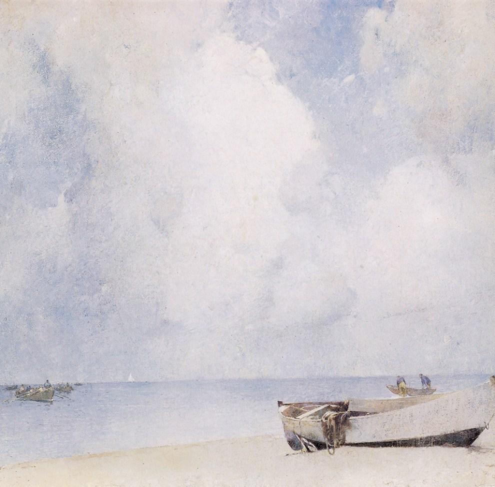 Emil Carlsen The South Strand, Skagen, 1909