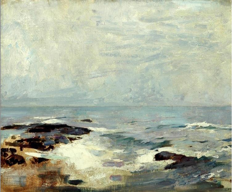 Emil Carlsen Ship's Rock, Ogunquit, c.1920