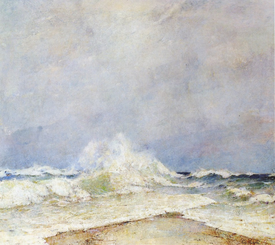 Emil Carlsen The meeting of the seas, 1908