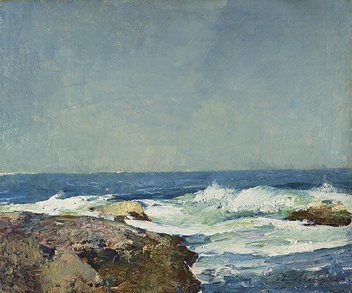 Emil Carlsen Seascape, 1912