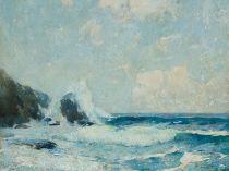 Full Tide Coast Of Maine (also called Full Tide: Study), c.1911