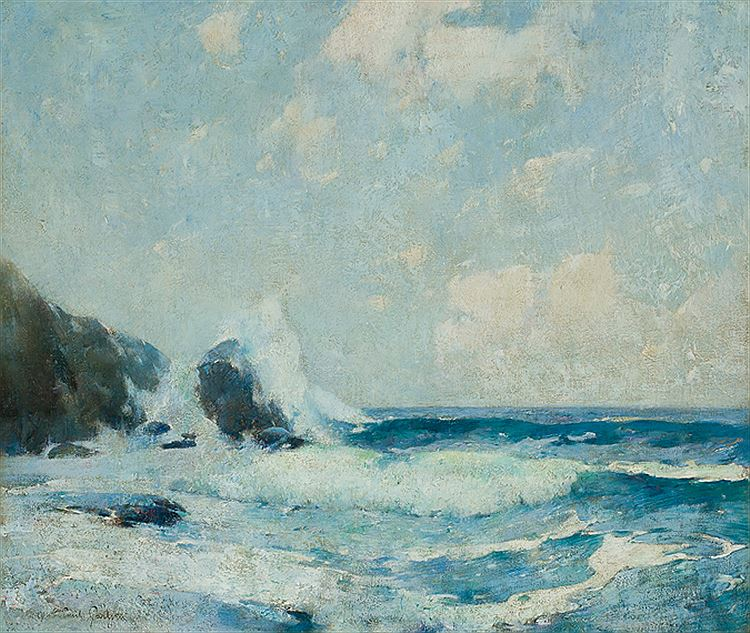 Full Tide Coast Of Maine (also called Full Tide: Study), c.1911