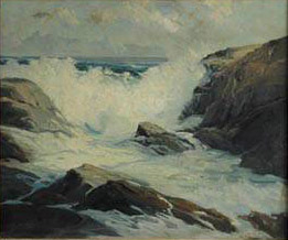 Emil Carlsen Northeaster, Maine, c.1882