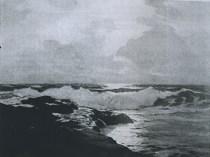 Emil Carlsen Seascape, 1882