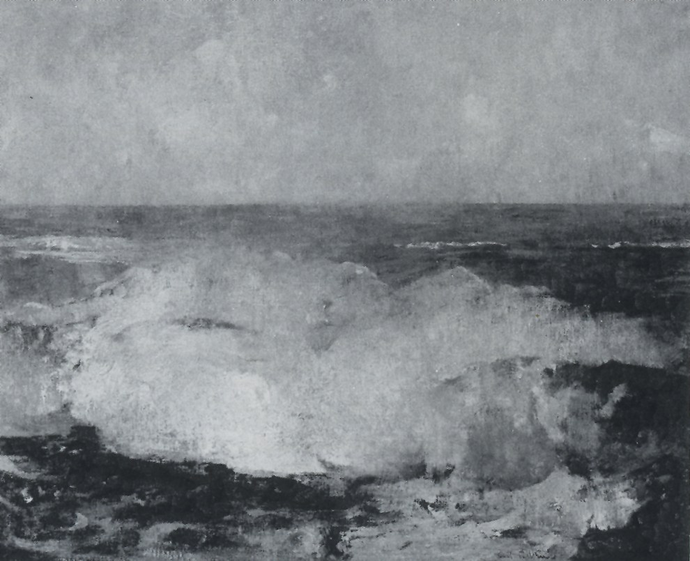 Emil Carlsen Surf Breaking, c.1908