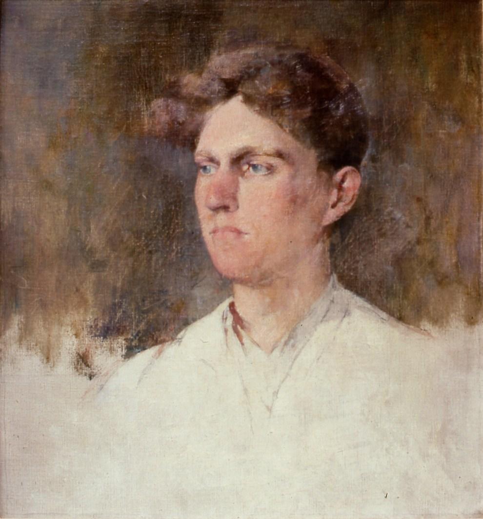 Emil Carlsen Portrait of Dines Carlsen, 1930