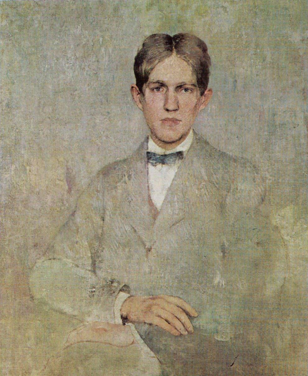 Emil Carlsen Portrait of Dines, c.1922