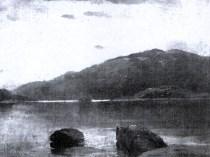 Emil Carlsen [Study of] Lake Dunmore, VT, ca.1890