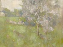 Emil Carlsen : Cherry tree, ca.1915.