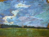 Emil Carlsen Landscape Study, c.1931