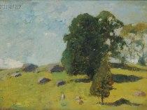 Emil Carlsen Spring Landscape, c.1925