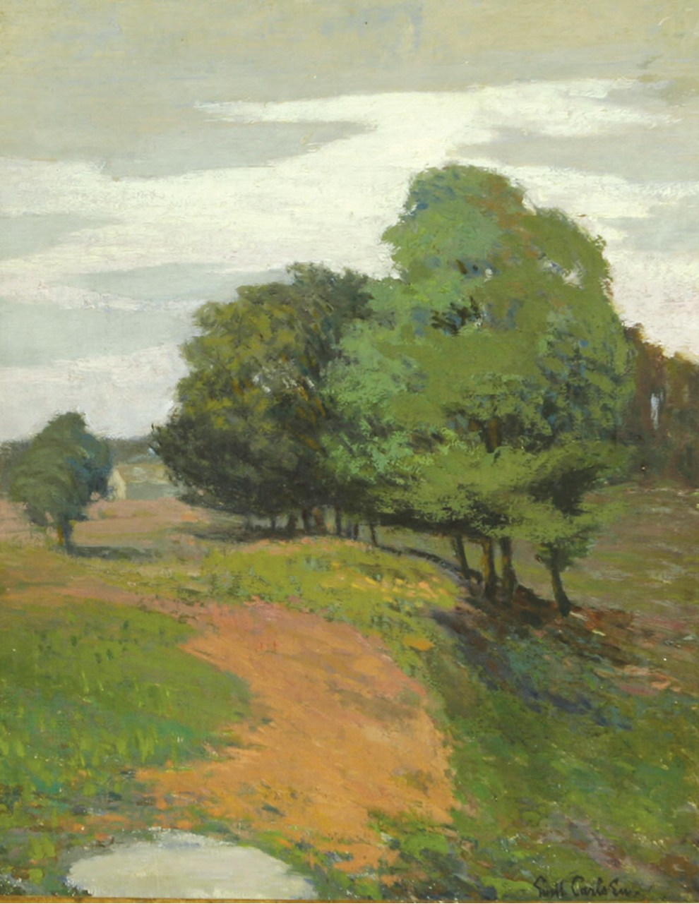 Emil Carlsen Landscape with Trees, c.1925