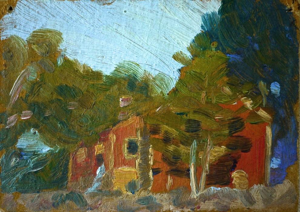 Emil Carlsen The Farm: A Sketch, c.1919