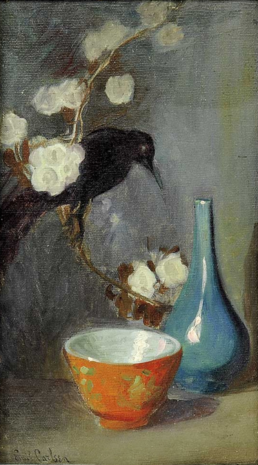 Emil Carlsen Still Life with Blackbird, c.1897