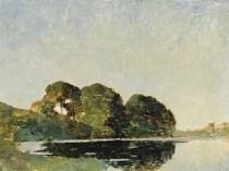 Emil Carlsen Summer Landscape, ca.1899