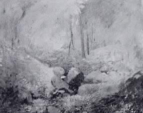 Emil Carlsen Woodland Interior (also called Woodland Landscape), c.1912