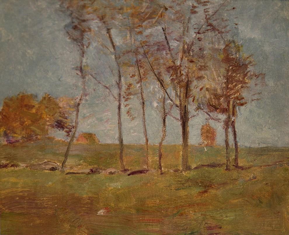 Emil Carlsen Autumn Landscape, c.1902