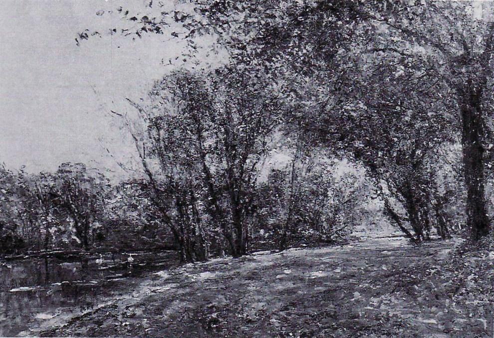 Emil Carlsen Landscape with a Pond, 1853