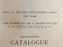 """1906 National Academy of Design, New York, NY, """"Winter Exhibition"""", December 22, 1906 - January 19, 1907"""