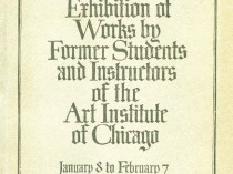 "1918 Art Institute of Chicago, Chicago, IL, ""First Exhibition of Works by Former Students and Instructors of the Art Institute of Chicago"", January 8 - February 7"
