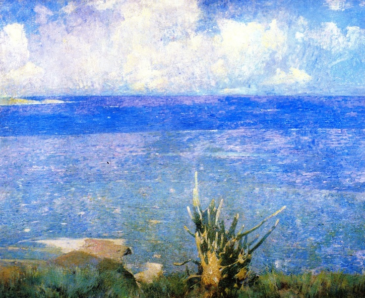 Emil Carlsen : The Caribbean, 1913.