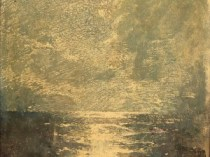 Emil Carlsen Moonlight Water Study, c.1909