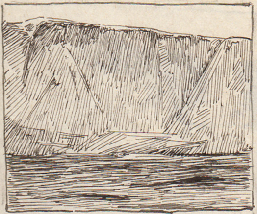 Emil Carlsen Baldhead Cliff, Ogunquit, c.1914