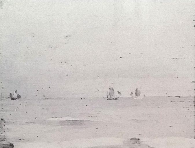 Emil Carlsen Sailboats, c.1912
