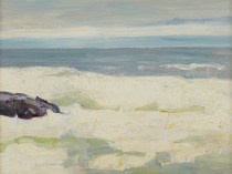Emil Carlsen Surf with Rocks, c.1911