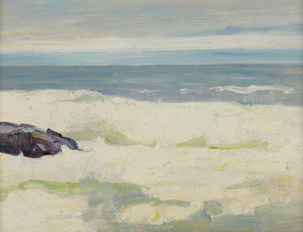 Emil Carlsen Surf with Rocks, c.1911