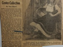 "Oklahoman, Oklahoma City, OK, ""Two Oil Paintings Given Permanent Center Collection"" by Nan Sheets, January 28, 1951"