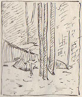 Emil Carlsen Maine Woods, c.1929