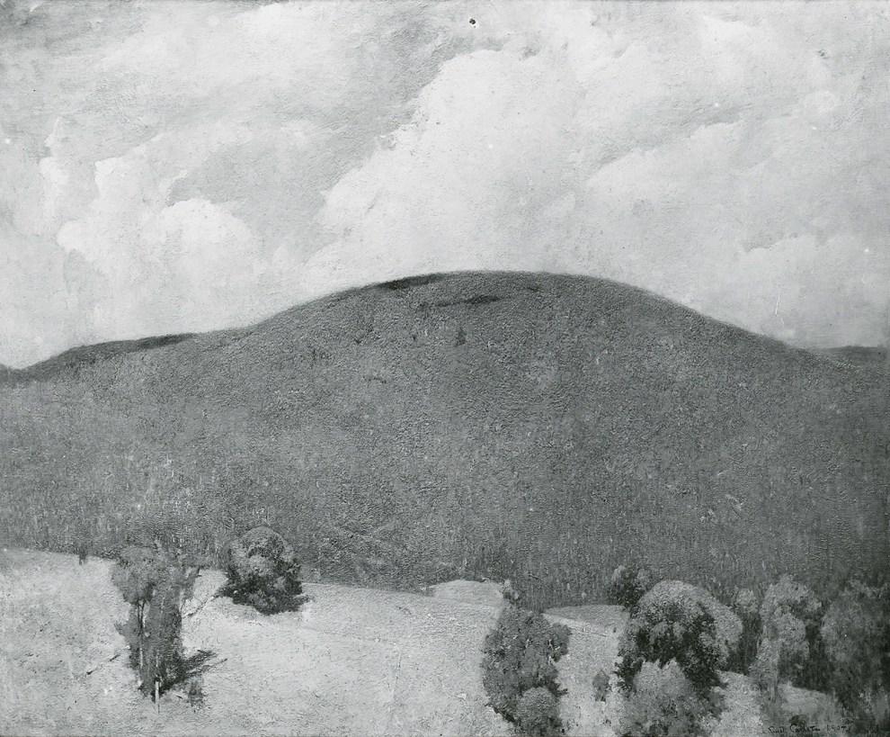 Emil Carlsen Canaan Mountain, 1907
