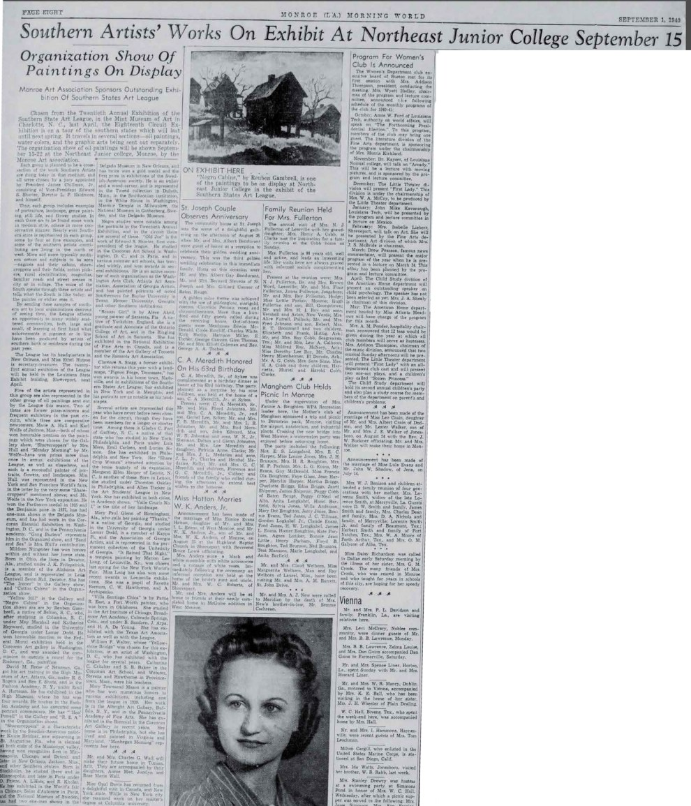 Monroe Morning World, Monroe, LA, September 1, 1940, Page 8