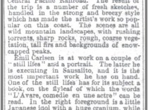 "San Francisco Chronicle, San Francisco, CA, ""School of Design"", September 28, 1890, Page 17"