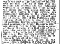 "The Brooklyn Daily Eagle, Brooklyn, NY, ""Fine Arts."", October 26, 1900, Page 9"