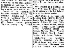 "Standard-Speaker, Hazleton, PA, ""Art League Preview Tuesday Of Works by 20 Americans"", April 11, 1966, Early Edition"