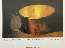 """""""Emil Carlsen Ad for Charles B. Tyler"""", American Art Review, September/October, 1975, page x, illustrated: color"""