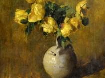 Emil Carlsen Yellow Roses, c.1897