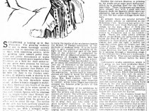 "San Francisco Chronicle. San Francisco, CA, ""Art Notes"", Sunday, October 15, 1899, page 25, not illustrated"