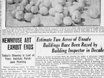 "The Decatur Herald, Decatur, IL, ""Newhouse Art Exhibit Ends"", May 1, 1927, Sunday, page 2, illustrated: B&W"