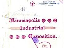 """1887 Minneapolis Industrial Exposition, Minneapolis, MN, """"Industrial Exposition"""", x-x?"""
